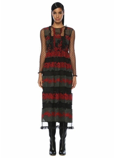Red Valentino Elbise Siyah